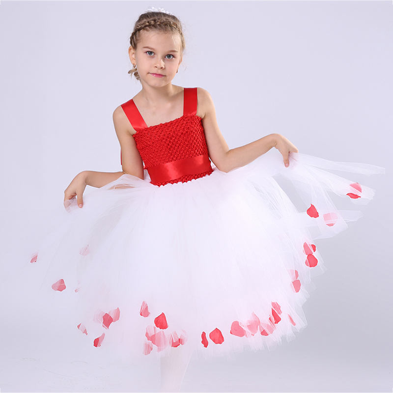 Girls Baby Kids Princess Tutu Dress Christmas Festival Photo Props Vestidos New Year Party Outfits Valentines Day Tutu Dresses<br>