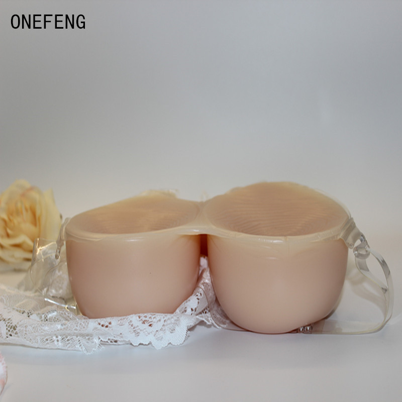 Free shipping ONEFENG 1800g/pair big artificial boobs silicone breast forms for unisex being sexy girl LTD<br><br>Aliexpress