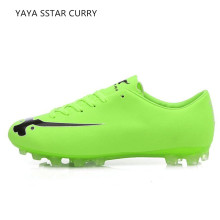 YAYA STAR CURRY 2017 new men soccer shoes long nail broken spear Messi c Luo assists poison bee students football training sho(China)