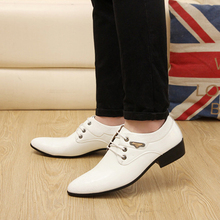 Buy LaiteHebe New Men's Flats Oxfords Loafers shoes Men Mens Leather Men Buckle Shoe Formal White Men Dress Shoes Luxury Brand LH179 for $28.97 in AliExpress store