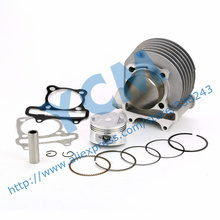 Set of Cylinder Kit 58.5mm Chinese Scooter Engine GY6 125CC 150CC Modified Large Displacement