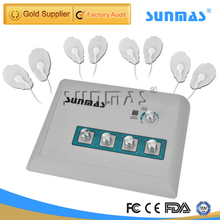 SUNMAS SM9366 Four Outputs Electronic Digital TENS EMS Therapy Massage Machine Body Back Leg Pain Relief Massager