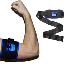 AB Gymnic Belt Electronic Muscle Arm leg Waist Body Massage Belt Slimming Fitness Health Care Sports Stimulator Sculptor Device