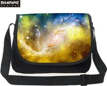 Brand Messenger Bag For Women Galaxy Star Universe Space Printed Shoulder Bag Female Girls Casual Cross Body Bag Bolsas Handbag(China)