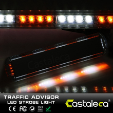 castaleca Super bright 72W LED Work LightBar Tow Truck Traffic Beacon Transport Strobe Warning Emergency Light Bar Lamp DC 12V