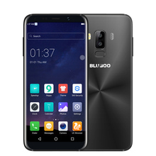 Bluboo S8 5.7 Inch 4G Smartphone Android 7.0 18:9 Full Display MTK6750T Octa Core 3GB RAM 32GB ROM Dual Rear Camera Mobile Phone(China)