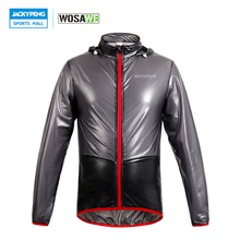 WOSAWE Bicycle Cycling Jacket Waterproof Multi-function Rain Coat Jackets Windproof MTB Mountain Road Bike Jersey with Hooded(China)