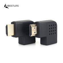 VBESTLIFE HDMI Male To HDMI Female Cable Adapter Converter Extender Right/Left Angle For HDTV HDMI 1080P Adapter Cable Converter
