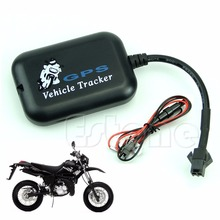 Mini Hot Vehicle Time Tracking Tracker Bike Motorcycle Real Monitor GPS/GSM/GPRS(China)