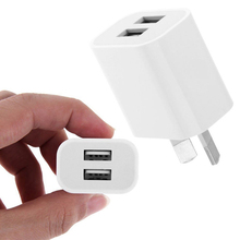 Universal Travel 5V 2A Dual USB AC Wall Home Charger Power Adapter AU Plug Phone(China)