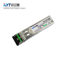 Small Form Factor Pluggable 1.25G 1310nm 40km Singlemode dual fiber LC DDM optical sfp transceiver module - XYT Sharetop Tech Store store