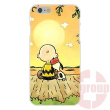 Charlie Brown Peanuts Beatles For iPhone 4S 5S SE 6S 7S Plus For Galaxy A3 A5 J3 J5 J7 S4 S5 S6 S7 2016