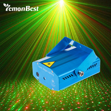 Stage Laser Light DJ Club Disco Projector Stage Laser Light Green Red Music Control Function AC 110-240V EU US UK AU Plug(China)