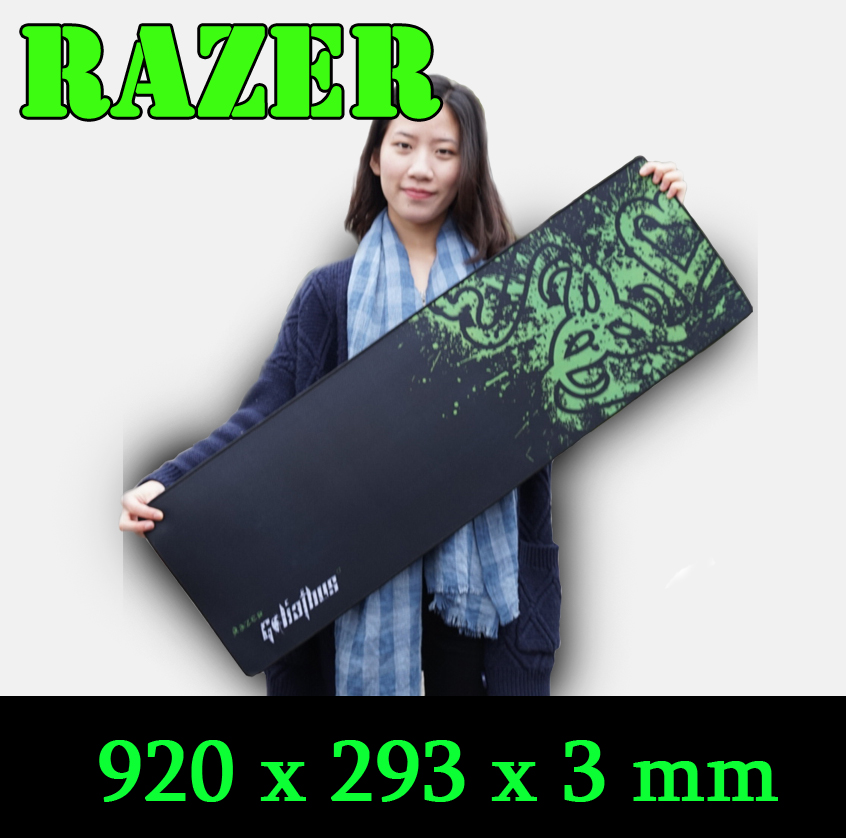 Razer mouse pad BIG SIZE, 920 mouse pad Gaming Edition locking edge<br><br>Aliexpress