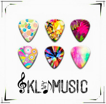 Promotion Good Cheapest 0.81mm guitar picks music instrument,electric guitar parts(China)