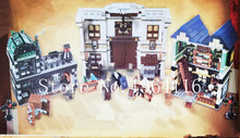 New 16012 Architecture series The Diagon Alley Model Building Blocks Compatible 10217 classic house education Toys for children(China)