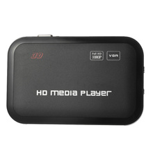 New Full HD 1080P Media Player Center MultiMedia Video Player with HD Remote Control Surpport mkv H.264 RM/RMVB/AVI/MPEG