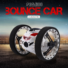 2016 New Surprise! 2.4G Fast Running Super Cool RC Car Jumping Sumo Robot Car Bounce Car Remote Control Toys(China)