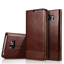 Fashion Splice Flip Wallet Leather Case for Samsung S6 S7 Edge S8 Plus Cover Back Fundas for Samsung Galaxy S6 Phone Bag Case(China)
