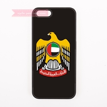 design cover case for iphone 4 4s 5 5s 5c se 6 6S 7 Plus iPod Touch 6 cases Coat of arms of United Arab Emirates flag uae Emblem(China)