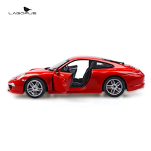 High Simulation 1:24 Scale Car Toys 911 Metal Diecast Cars Vehicle Model Toy Collection Gift for Kids New