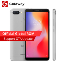 "Global ROM Original Xiaomi Redmi 6 3 GB RAM 32 GB ROM teléfono móvil Helio P22 Octa Core 12MP + 5MP cámara Dual 5,45 ""18:9 Pantalla Completa(Hong Kong,China)"