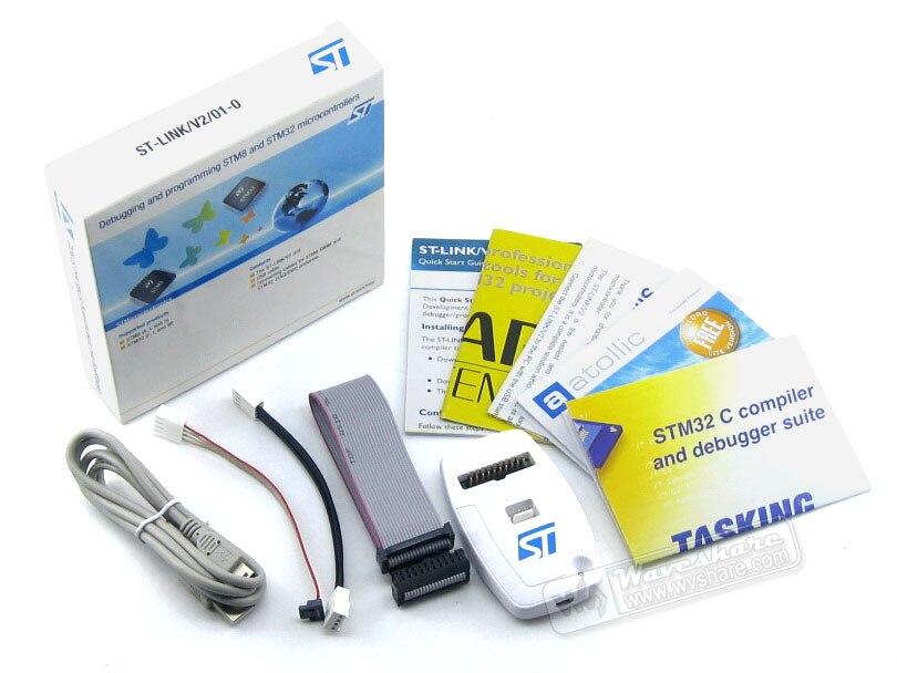Parts 3pcs/lot ST Original ST-LINK/V2 (EN) in-circuit debugger/programmer for STM8 and STM32 USB JTAG In-circuit Debugger/Progra<br>