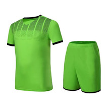 Men Women soccer jerseys sets survetement football jersey 2017 sports kits tennis shirts shorts maillot de foot DIY print draw(China)