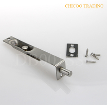 6 Inch 304 Stainless steel Latch Lever Action Flush Slide Door Lock Bolt 22mm wide doorbolt--US32D(China)
