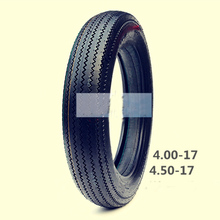 4.00/4.50/5.00-16/17 Motorcycle Sawtooth Wheel Rim Tire Tyre With Inner Tube(China)