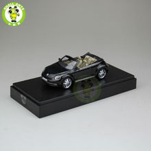 1:43 Scale VW Volkswagen beetle Cabriolet Diecast Car Model Toys Black(China)
