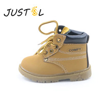 2017 autumn winter hot sale children's casual cotton boots kids non-slip keep warm Martin snow boots for boys girls size21-30