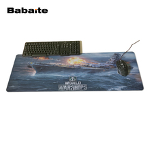 Babaite Nouveau World Of Warship XL Mouse Pad Taille 400x900x2Mm and 300x700x2Mm Livraison gratuite(China)