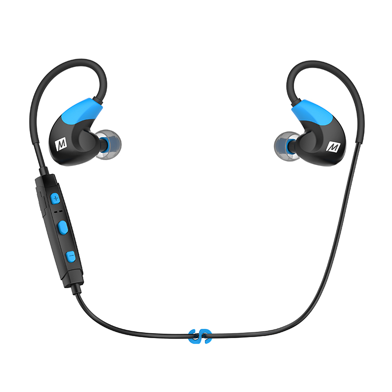DHL free shipping MEE audio X7 Stereo Bluetooth Wireless Sports In-Ear Headphones With Mic Calls Control Earphones pk pb 2.0