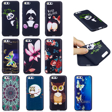 Top Quality HD Relief Soft TPU Phone Case For Xiaomi 6 Panda Bamboo Lotus Case For Xiaomi Redmi 4X Cell Phone Mobile Case Funda