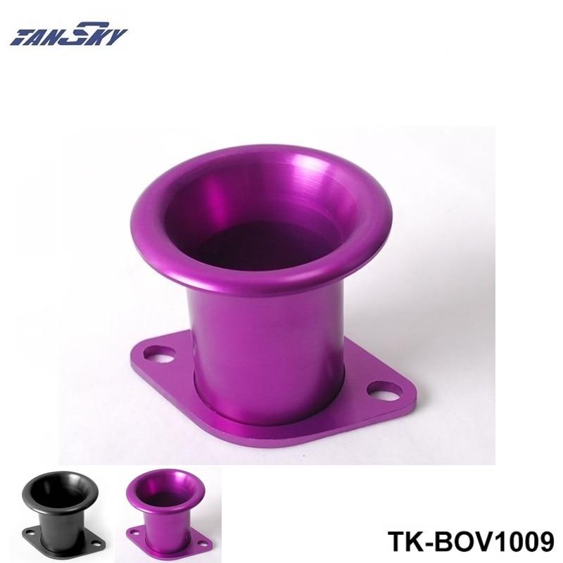 Purple BLACK Aluminum turbo flange Turbo Inlets-BOV Botton TK-BOV1009