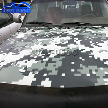 Digital Camo Car Vinyl Wrap Green Urban Sticker Bomb Camouflage Printed Graphics Pvc Material Roll Sheet