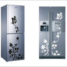 high quality creative refrigerator sticker butterfly pattern wall stickers home decor