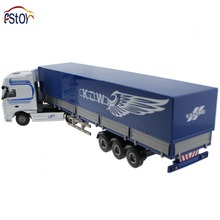 Alloy Diecast  truck models stacking container 1:50  Engineering car vehicle scale Truck collection gift toy