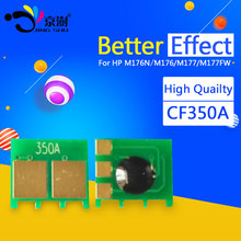 5set toner cartridge chip 130A CF350A CF351A CF352A CF353A for HP color laserjet M176N M176 176N M177 M177FW 176 177 printer(China)