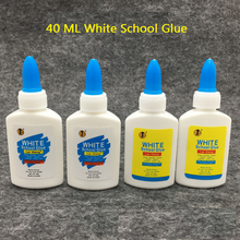 1Pcs/set New Liquid practical super White Glue Cleanable Adhesive Strong Bond Paper Wood jewelry Plastic for school office tool(China)