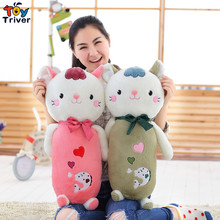 65cm Cartoon Plush cat toy stuffed animal doll soft cats pillow baby children birthday christmas gift home decoration Triver