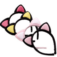 Adorable Cat Ear Girls' Hairband Kids Headwear CHildren Accessories(China)