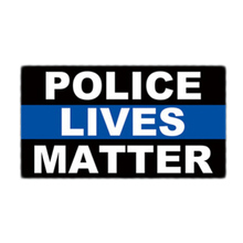 6.5*11.5 CM  Police Lives Matter  Support Police Officers Thin Blue Line Decal Car Sticker
