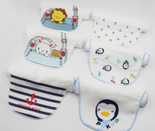 Kids Child Handkerchiefs / 100% cotton wholesale(China)