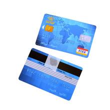 2Pcs Credit cards+1Pc PVC Transparent bar Floating Credit Card - Magic Tricks,Magic Accessories,Satge Magic props Close-up