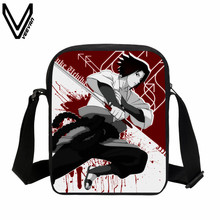 VEEVANV 2017 Hot Sale Anime Naruto Mini Messenger Bag Cartoon Uzumaki Naruto Crossbody Bags Kakashi  Sasuke Children School Bag