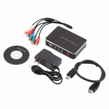 NEW HD Game Video Capture 1080P HDMI YPBPR Recorder US Plug for Game Lovers