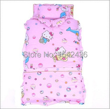 Autumn Winter Pure 100% Cotton Padded Baby Sleeping Bags Newborn Blanket Kits Hoodie very Cute Free Shipping(China)