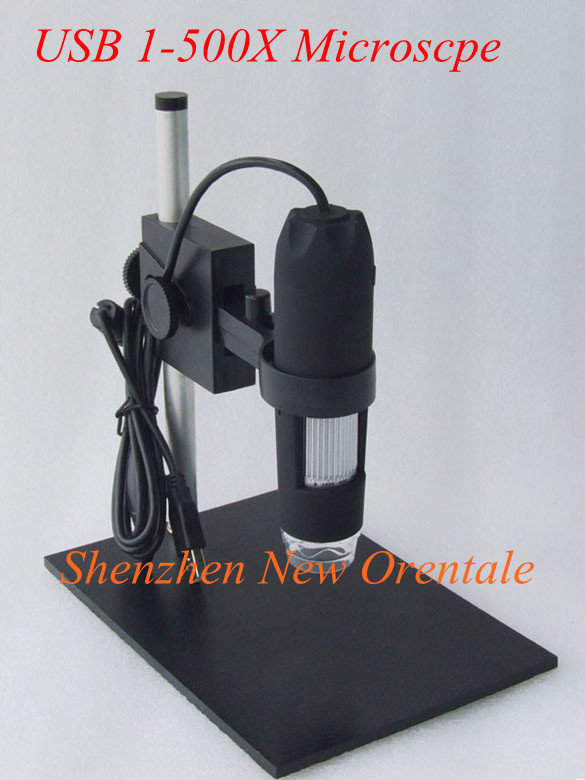 1-500x USB Digital Microscope + holder(new), 8-LED Endoscope with Measurement Software usb microscope,1 -500X continuous zoom<br><br>Aliexpress